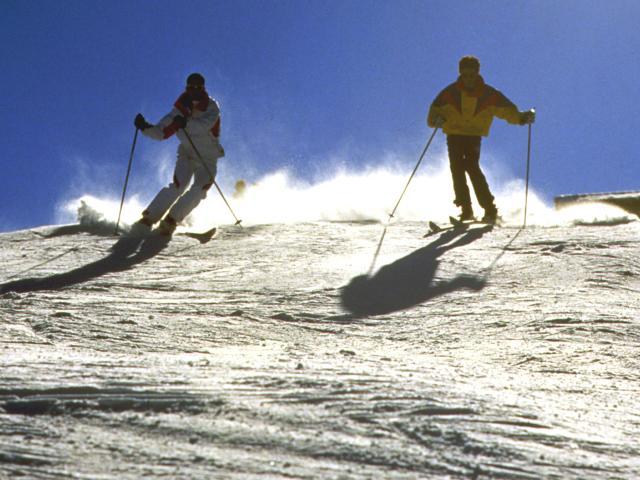 Skiing Big