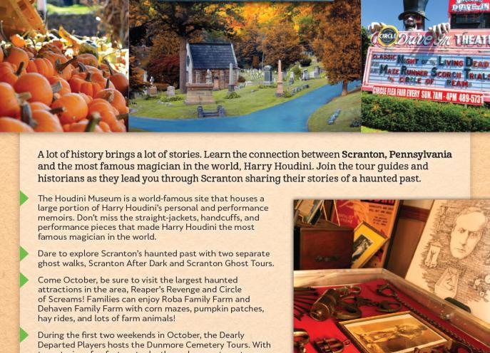 Magic & Haunts Itinerary