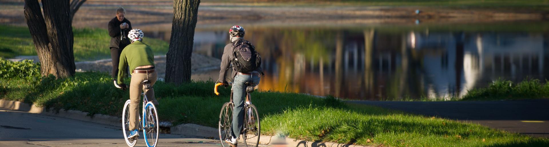 Tenney Park Biking