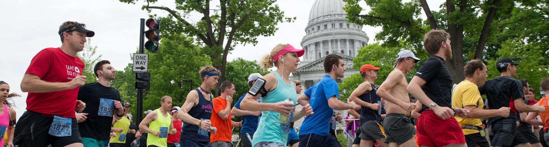 Race around capitol