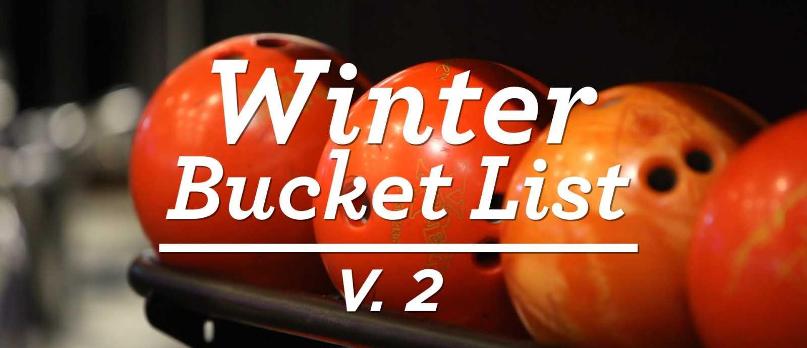Hamilton County Winter Bucket List V. 2