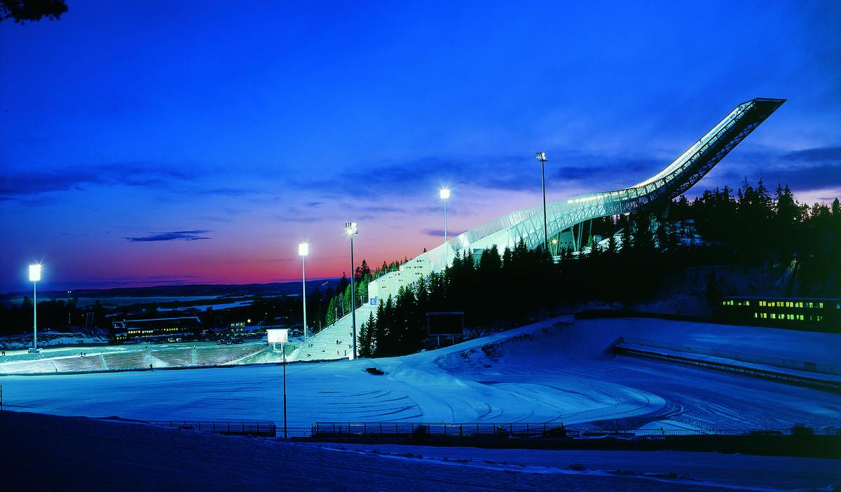 The Holmenkollen Ski Jump, Oslo