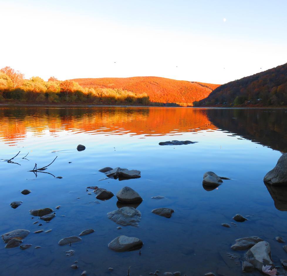Lackawanna State Park Lake