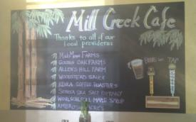 Mill Creek Cafe - Honeoye, Finger Lakes