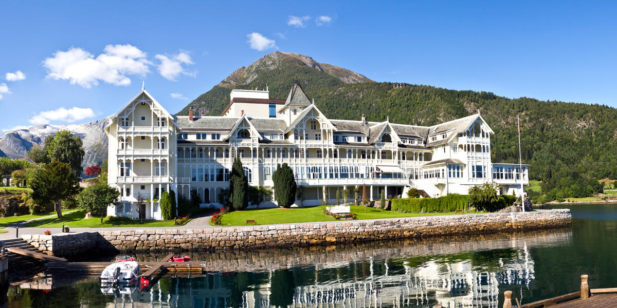 Spesielle hoteller på vestlandet