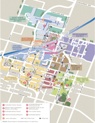 Scottsdale Downtown Map