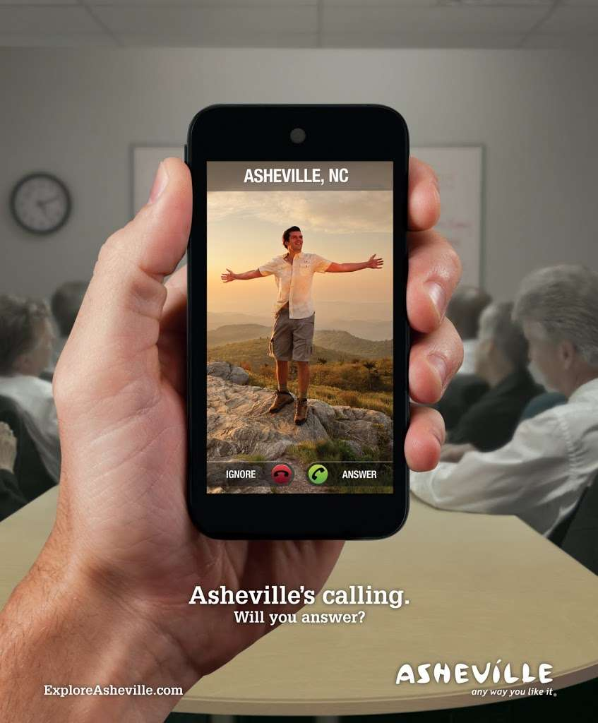 Answer the Call! Sneak Peek at Asheville's New Ad Campaign