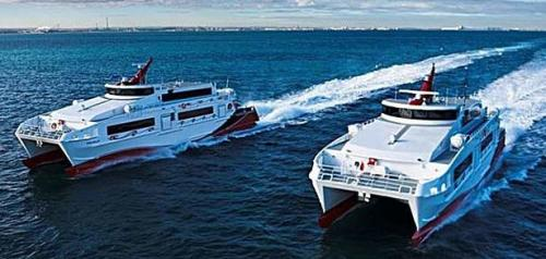 Set sail this fall on the cross-bay ferry