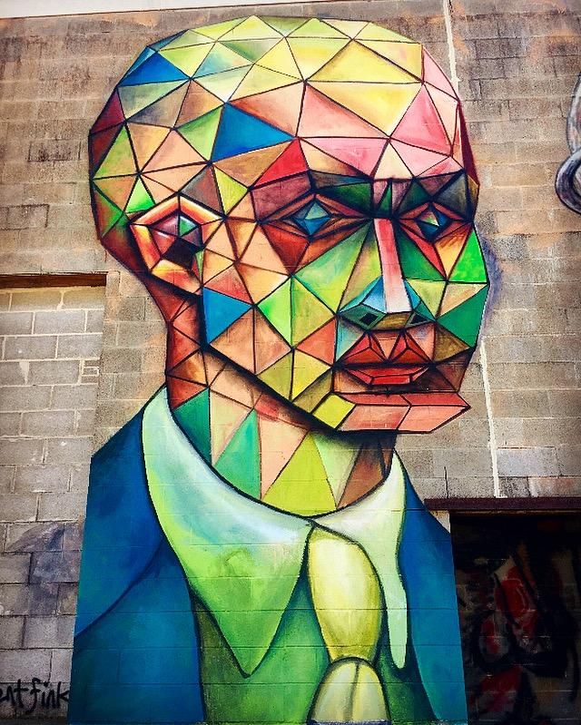 Houston Mural - Yo Mariana
