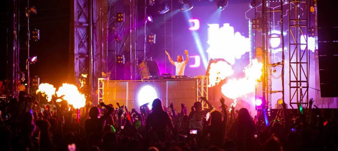 Main Stage during Sunset Music Festival at Raymond James Stadium