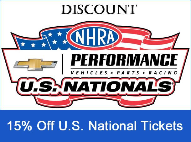 US Nationals Discount