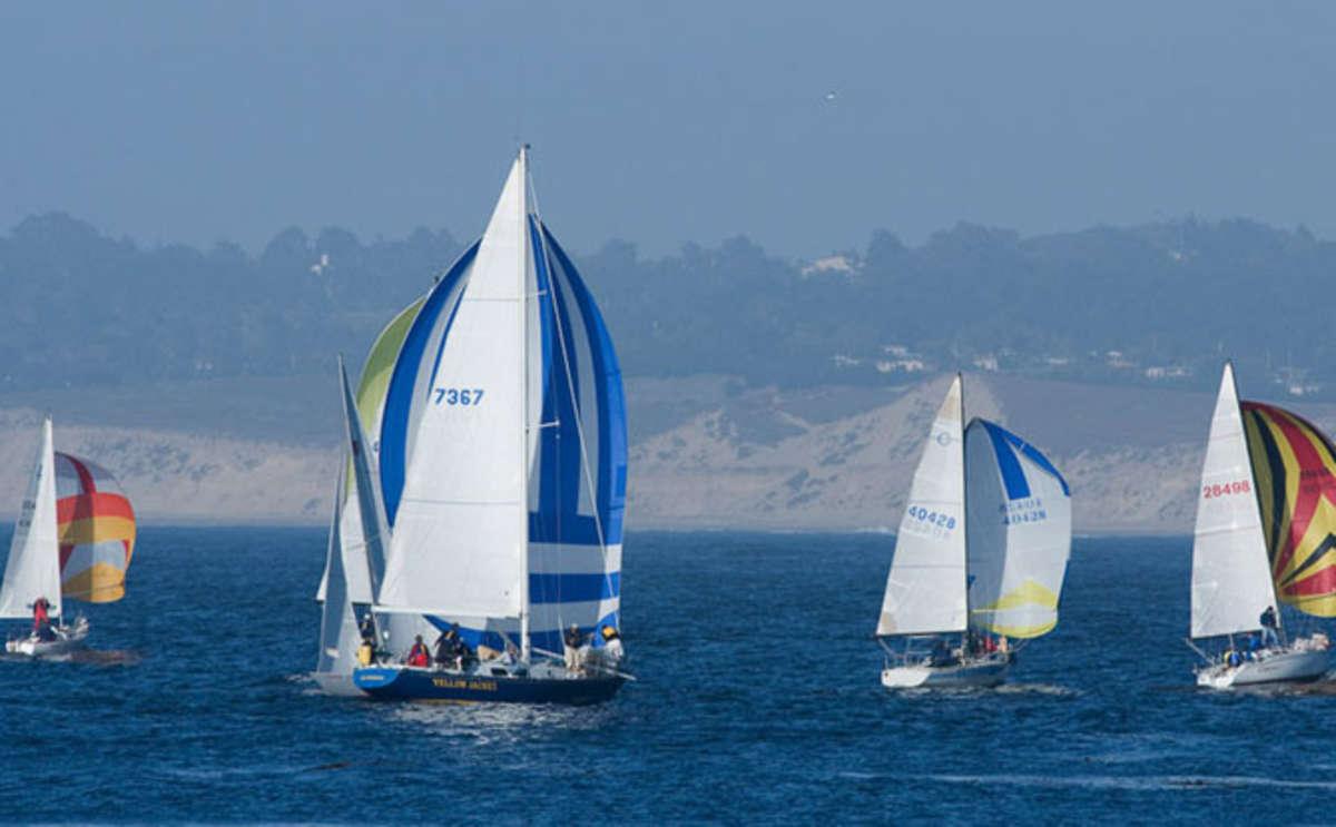 Sailing on Monterey Bay