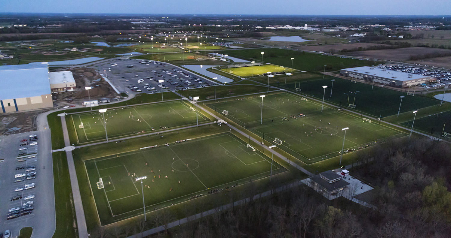Grand Park Sports Campus In Hamilton County