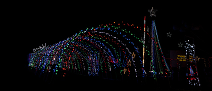 Atkins Family Christmas Lights
