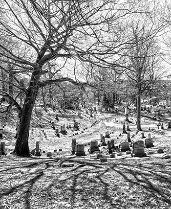 Fort Hill Cemetery - part of the Haunted History Trail of New York State