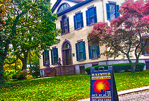 Seward House Museum part of the Haunted History Trail