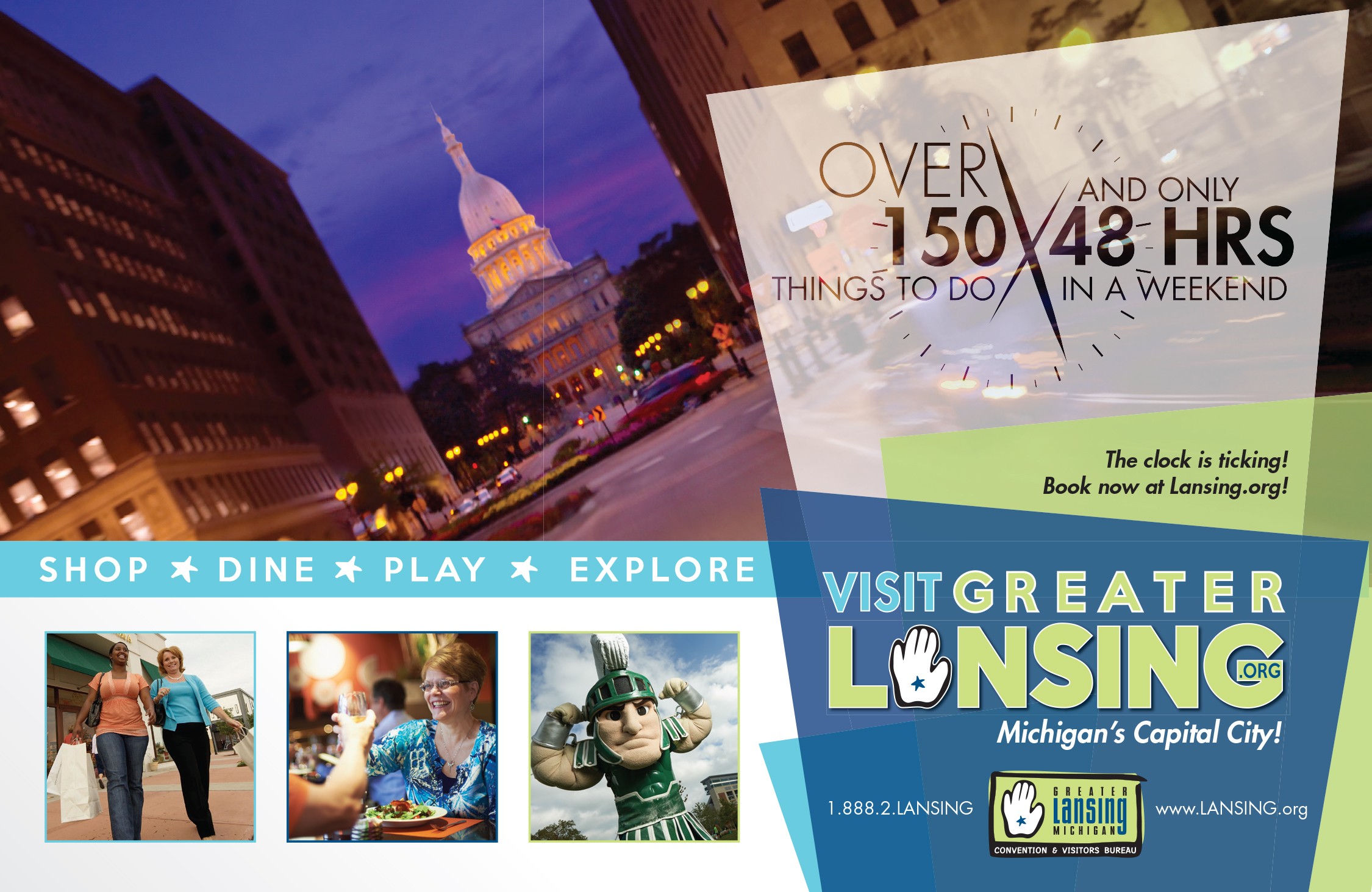Things To Do In Central Michigan, Leisure Image - Greater Lansing Convention & Visitors Bureau