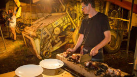 Last year's Wilsons Junkyard Feast was a highlight of Taste Great Southern and will be re-created this year.