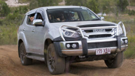 The 2017 Isuzu MU-X is sticking it to the big boys.