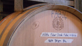 Faber Vineyard celebrating 20 years.