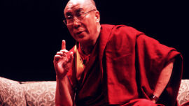 His Holiness the Dalai Lama.
