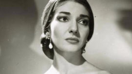 The greatest soprano of all, Maria Callas.