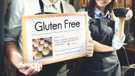 Gluten-free is not a foodie trend.