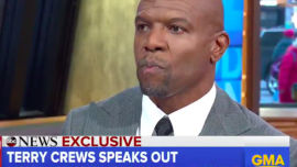 Terry Crews on Good Morning America.