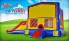 Inflatable Obstacle Module and Slide