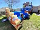 Bear Camping Water Slide Rentals