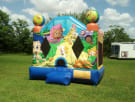 Bubble Guppies bounce house moonwalk