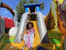 Kids Jumping Dinosaur Land Playzone Bounce House Combo
