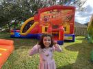 Thanksgiving Bounce House Moonwalks and Slide