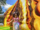 Volcanoe Dinosaur Land Playzone Bounce House Combo