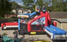 Superhero giant slide rentals houston