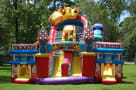 Front of Midway Obstacle Course Rental