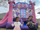 Minnie Mouse Daisy Pink Bounce House