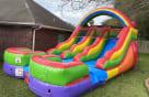 Double Themed Rainbow Slide