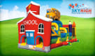 Bounce House School Inflatable