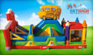 School Time Bounce House Side