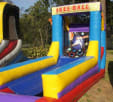 Front view of Skeeball Game