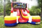 Ninja Turtle Double Lane Wet Dry Slide