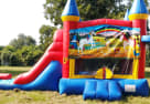 Unicorn 3in1 Obstacle Bounce House