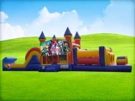 50ft Monster High Obstacle w/ Wet or Dry Slide