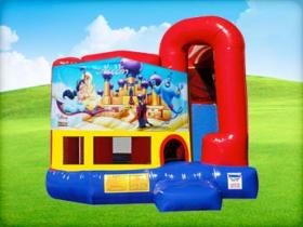 4in1 Disney Alladin Bounce House Rental
