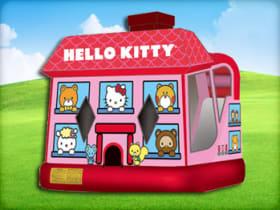 Hello Kitty Moonwalk with (Wet or Dry Slide)