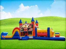 50ft Lego Movie Obstacle w/ Wet or Dry Slide