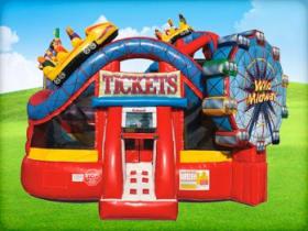 Amusement Park Bounce House