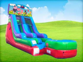 15ft Peppa Pig Retro Wet/Dry Slide