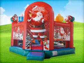 Merry Christmas Bounce House Houston TX